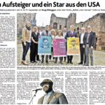 """""""Ein Aufsteiger und ein Star aus den USA"""" Dürener Nachrichten 15.04.2016"""