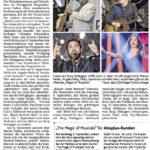 """""""Von Schlager bis Pop-Hymne"""" Aachener Zeitung / Aachener Nachrichten vom 09.05.2018"""